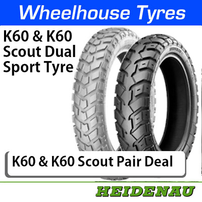Heidenau K60 & K60 Scout Pair Deal - All Sizes