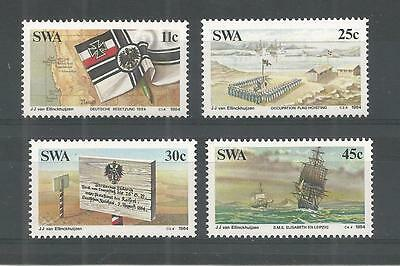 S.w.a 1984 German Colonization Sg,431-434 Un/mm Nh Lot 1167A