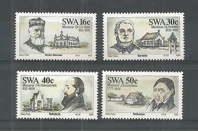 S.w.a 1989 Missionaries Sg,503-506 Un/Mm Nh Lot 1176A