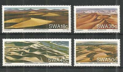 S.w.a 1989 Namib Desert Sg,511-514 Un/mm Nh Lot 1177A