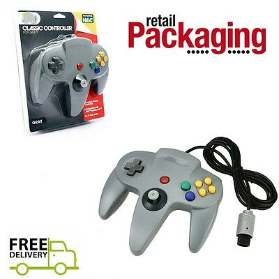 NEW Grey Long Controller Game pad System for Nintendo 64 N64 Console cart