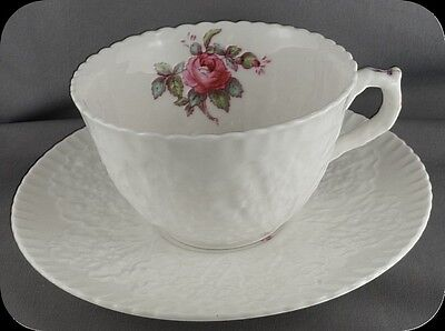Spode Y2862 (Billingsley Rose) Cup and Saucer