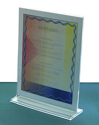 Top Loading Sign Holders-36 Sizes | Retail Sign Holders | Clear Acrylic Frames