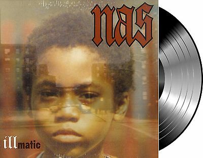 Lp Vinilo Nas Illmatic New And Sealed Vinyl Repress Reissue Classic Album