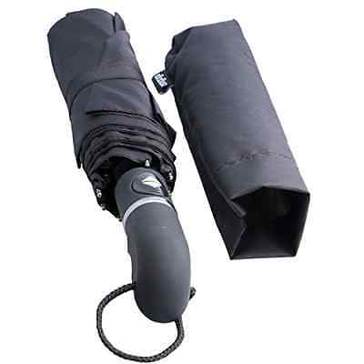 Umbrella Omgogo Automatic Wind Resistant Double Canopy 12 Inches Compact Size