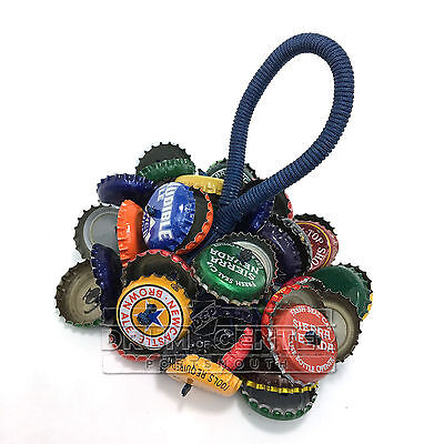Upcycled Percussion Hand Rattle Bottle Caps