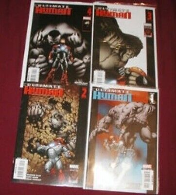 Ultimate Human U-PICK 1 COMIC #1,2,3,4 (2008) Marvel Singles VF-VF+