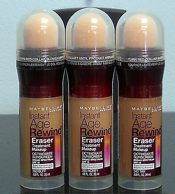 Maybelline Instant Age Rewind Eraser Treatment Makeup (Choose Your Color)  (New)