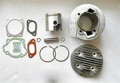 SMALL BLOCK CONVERSION 200cc ALLOY CYLINDER KIT FOR 125/150cc LAMBRETTA ENGINES