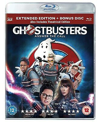 Ghostbusters (3D Edition with 2D Edition and Digital HD UltraViolet Copy) [Blu