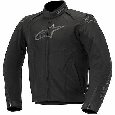 ALPINESTARS T-Jaws Waterproof Textile Motorcycle Jacket (Black) Choose Size