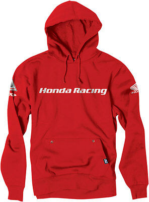 Factory Effex Official Licensed HONDA Racing Pullover Hoodie (Red) Choose Size