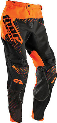 THOR MX Motocross 2016 Mens CORE Pants (HUX Black/Flo Orange) Choose Size