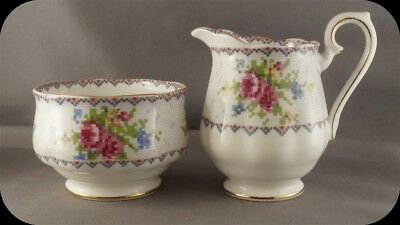 Royal Albert Petit Point Cream & Sugar (Four Sets Available)