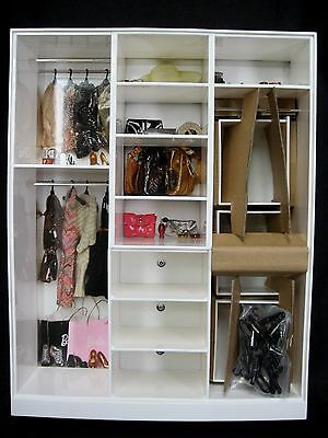 Barbie Look Wardrobe New in Shipper Box Closet Furniture NRFB