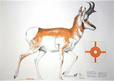 """NRA Coyote Life-Size Game Targets 45/"""" x 35/"""" 4 folded HF 07880"""