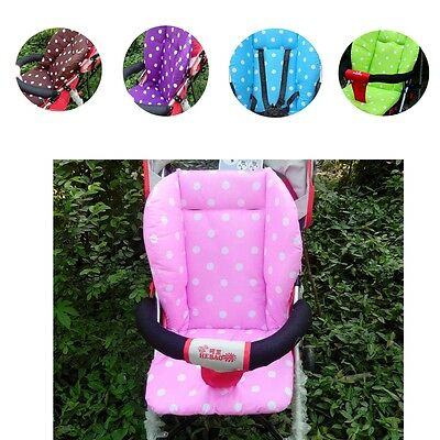 Baby Infant Durable Stroller Seat Pushchair Cushion Soft Comfortable Cotton Mat