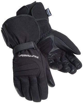 TOURMASTER Synergy 2.0 Textile Heated Motorcycle Gloves (Black) L (Large)