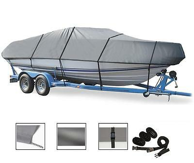 """Semi-Custom Boat Cover for Center Console Boats up to 19'6"""" L,93"""" Width"""
