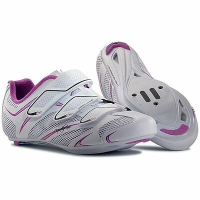 Northwave Starlight 3S Shoes, Road, White/Purple, Women, Cycling Shoes, 38