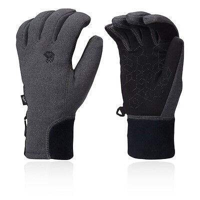 Mountain Hardwear Power Stretch Stimulus Womens Grey Winter Warm Gloves