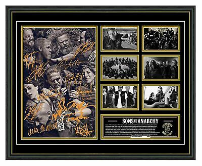 Sons Of Anarchy Cast Signed Limited Edition Framed Memorabilia