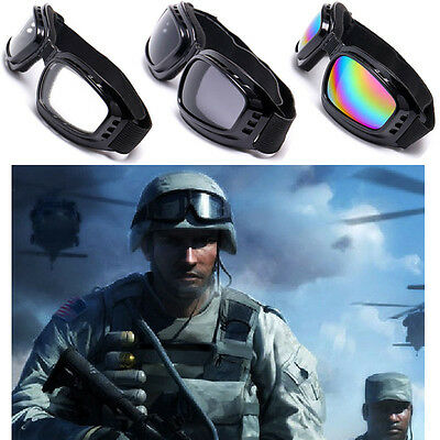 Eye Protection Eyewear Safety Goggles Glasses Windproof Anti-Fog Sport Outdoor