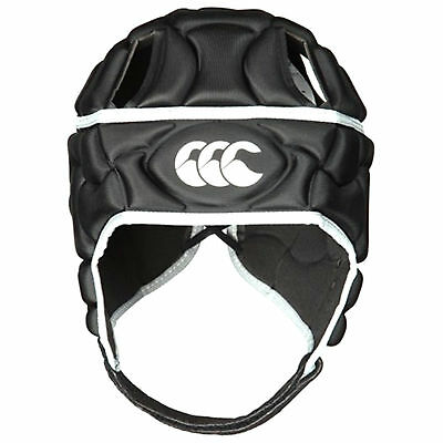 Canterbury Club Plus Mens Rugby Headguard Scrumcap Black