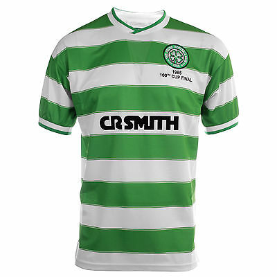Score Draw Celtic 1985 Scottish Cup Final Mens Football Shirt