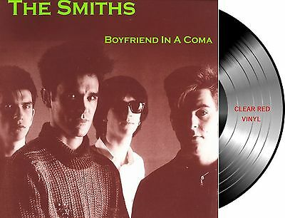 Lp Vinilo The Smiths Boyfriend In A Coma New And Sealed Red Vinyl Morrissey