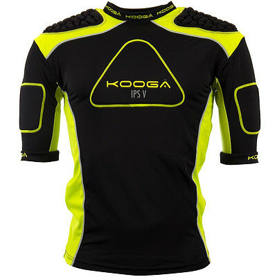 KOOGA IPS Pro V Mens Adult Rugby Body Protection Shoulder Pads, L