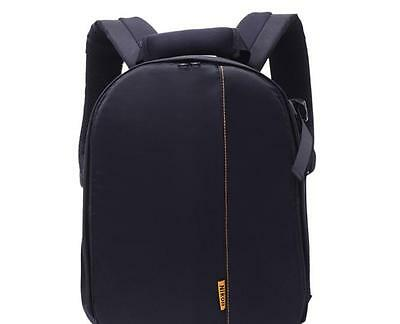 1 pc Trendy Waterproof DSLR Backpack  Bags for Canon Nikon Camera Lens Polyester