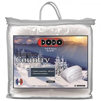 DODO Couette chaude 400 gr/m² COUNTRY 140x200cm