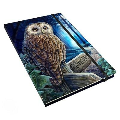 Way of The Witch Journal Diary. Lisa Parker. Fantasy Owl Book of Shadows