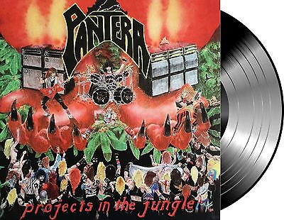 Lp Vinilo Pantera Projects In The Jungle New And Sealed Vinyl