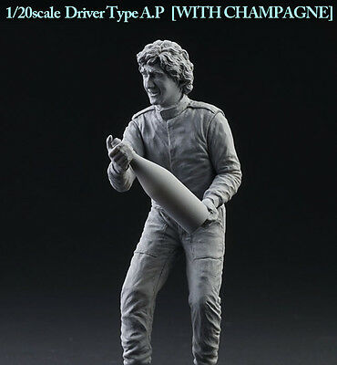 "Model Factory Hiro 1/20 ""Dive Nine"" Figure Series - Driver Type A.P w/Champagne"