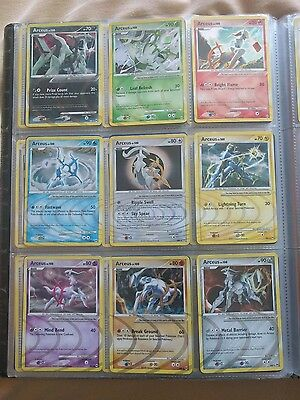 Complete Pokemon arceus set, all 1-99 AR1-9 and SH10-12 Included