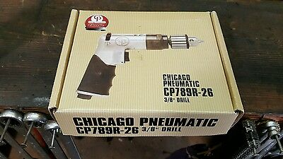 "Chicago Pneumatic    Cp   789R-26   3/8""  Reversible Air  Drill"
