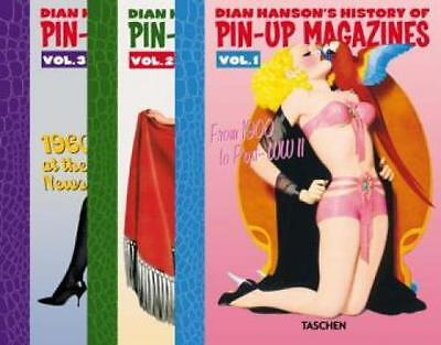 Dian Hanson's History of Pin-up Magazines Vol. 1-3 From 1900 to 1960s at th 1873