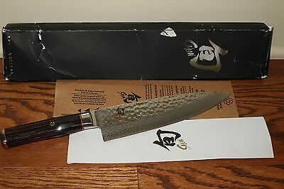 "NIB Williams Sonoma Shun Hiro Chef's Knife, 8"" SG0706"