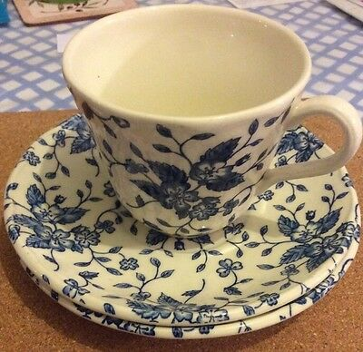 Grindley ROYAL TUDOR 'Bouquet' Cup And 2 Saucers