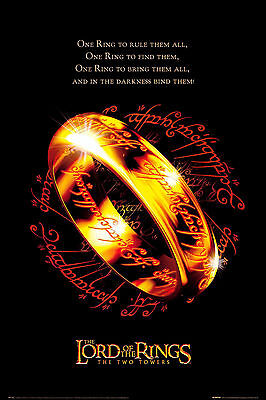 Lord Of The Rings Two Towers Movie Poster 61x91 cm