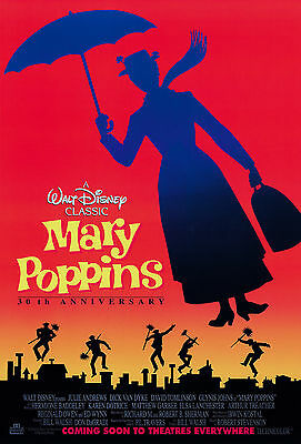 Mary Poppins Movie Poster 61x91 cm