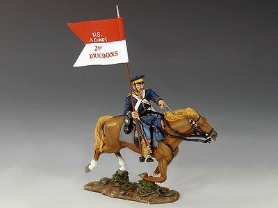 King and (&) Country TRW002 - Mounted Dragoon w/Guidon