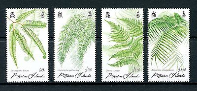 Pitcairn Islands 2016 MNH Ferns of Pitcairn 4v Set Plants Flora Stamps