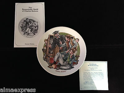 """1981 """"Nicholas Nickleby"""" Remarkable World of Charles Dickens 9th Ed. Plate"""
