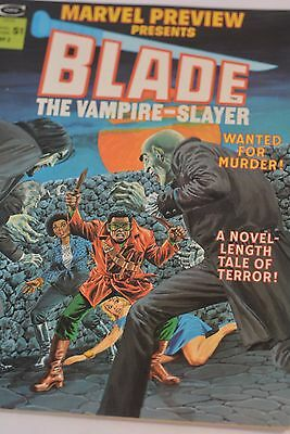 Marvel Preview Presents BLADE The Vampire-Slayer  Vol.1 No.3 1975 Excellent