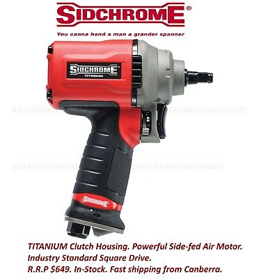 New Sidchrome 3/8 Sq Drive Impact Air Wrench Tool Ratchet SCMTTA-038   RRP $649