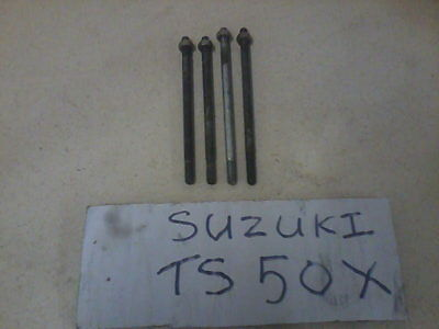 Suzuki Genuine Ts50X Cylinder Barrel Rods & Nuts Standard Thread