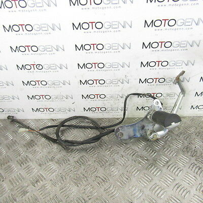 Hyosung GV 250 Aquila 11 OEM rear brake brakcet cable switch BENT lever
